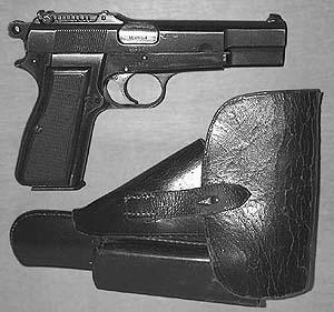 German Occupation Browning Hi-Power